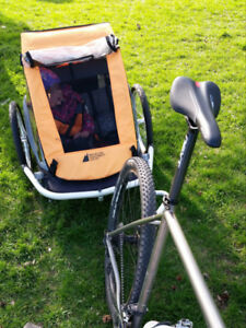 Child Bike / jogging double trailer - MEC