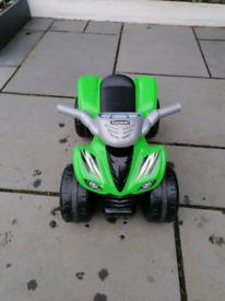 Kawasaki KFX Ride-on Green
