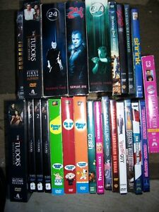 DVD BOX SET AND MOVIE LOT