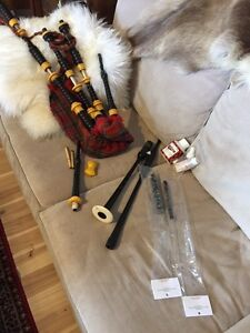 R.G. Lawrie Bagpipes Bag Pipes Vintage **reduced**