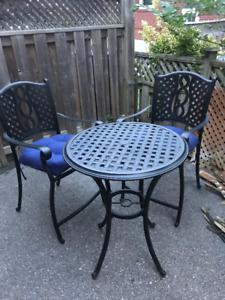 Patio set  - High chairs