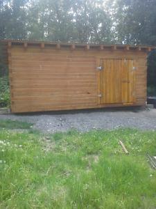 Cabin timbers