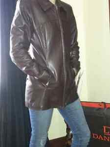 Daniel Leather Jacket Cambridge Kitchener Area image 5