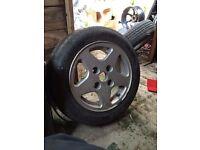 """4 X 110 et25 13 """" alloy wheels"""