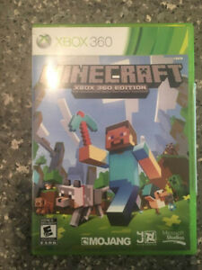Minecraft Game/Disc For Xbox360