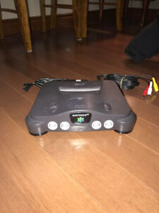 Nintendo 64 and Controllers
