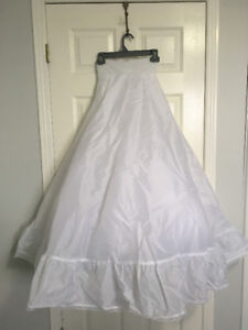 Wedding Full Bridal Gown Slip/ Crinoline from David's Bridal  -