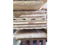 Solid RUSTIC Oak flooring 20mm X 150mm 6sq Mts Aprox