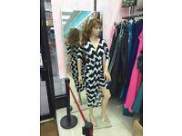 Full Body Dummy Dressmaker Mannequin Female Male Shop Window Showcase Display