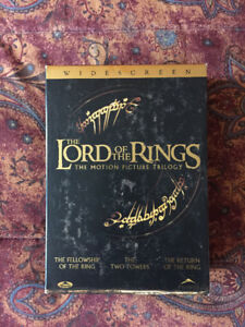 The Lord of The Rings Motion Picture Trilogy