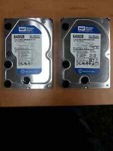 2 Desktop Hard Drives (640GB)