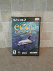 2002 playstation 2 ecco the dolphin defender of the future.