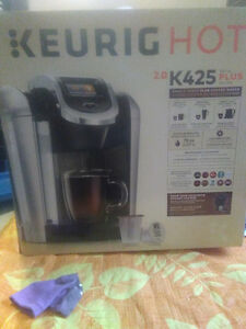 Keurig hot single serve plus coffee maker