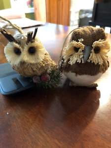 Owl tree ornaments