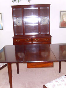 Dinning Room Table and China Cabinet