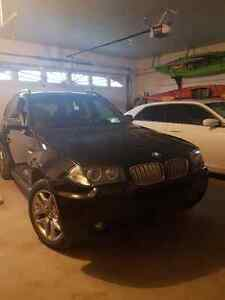 2008 BMW X3 Si with MSPORT Package