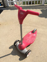 Red Radio Flyer Scooter