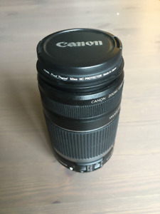 Canon EFS 55-250 mm f/4-5.6 zoom lens