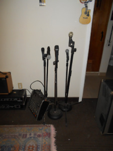 Microphones and Vocal Equipment