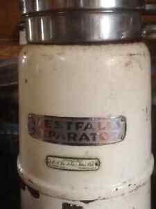 Cream seperator and cream can