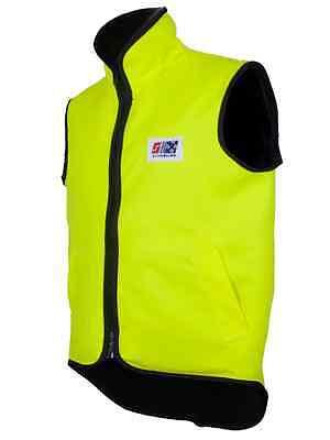 - Stormline 985N Hi-Viz Waterproof Bodywarmer Gilet Vest, Oilskin Fishing Vest