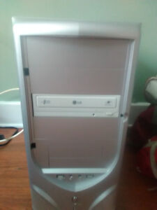 Lg computer tower only must moving only asking $150!