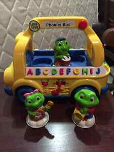 Leap Frog Alphabet Bus