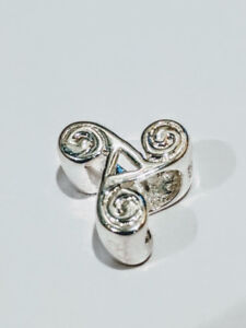 Charm or Bead 925 Sterling Silver for Pandora style bracelets