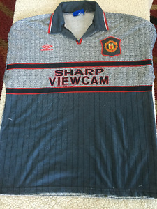 Manchester United away soccer jersey