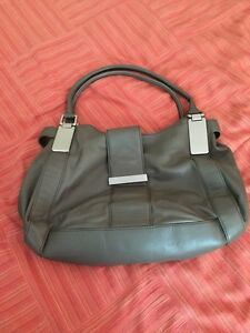 Leather Banana Republic bag for sale.