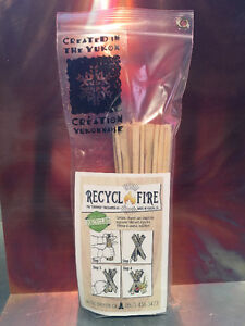 Emergency Fire Starter made from Local Recycled Materials