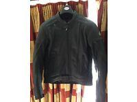 Hein gericke leather motorcycle jacket