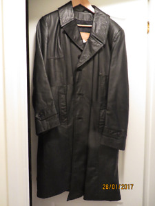 MAN'S LEATHER COAT, SNOW SUIT