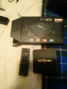 Brand new 4K smart android box