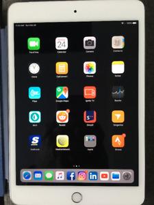 16GB Silver iPad Mini 4 Wi-Fi+LTE Cellular