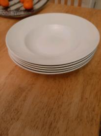5 steelite International soup/ spaghetti plates