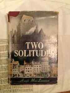 Two Solitudes by Hugh MacLennan - first edition