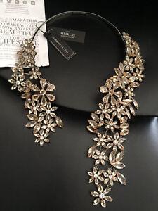 BCBG Maxazria designer statement necklace NEW