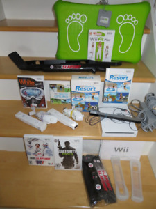 Nintendo Wii Console + Wii FIT plus