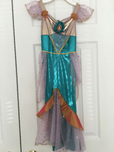 Ariel Little Mermaid Costume for Kids Age 4-5 EUC
