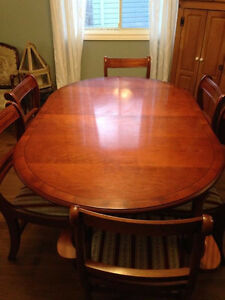 Dining rm Table and Chairs