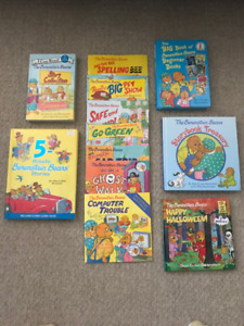 Lot of 12 Berenstain Bears Children's Books - Excellent!