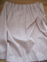 """Pale Pink / Rose Pinch Pleated Drapes 2 Panels ea. 96"""" W x 60"""" L"""