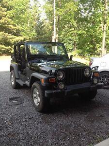 2003 Jeep TJ Coupé (2 portes)