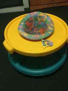 Evenflo  Play Table Saucer, Stroller and Little TIkes Baby stuff