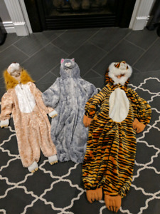 Lion, Cat, Tiger Halloween costumes