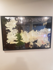 Game of Thrones Map Poster