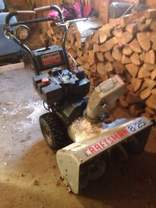 Craftsman snowblower for trade