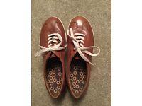 Ecco lace up shoe