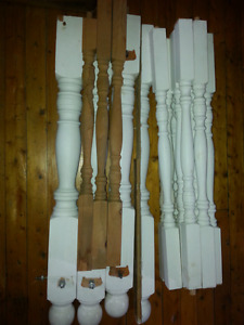 Selling wood spindals & posts